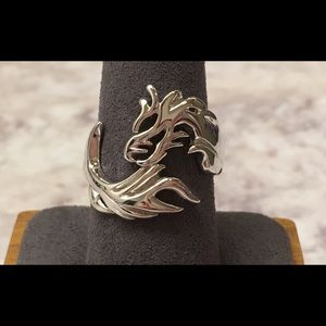 Jewelry - Sterling Silver Dragon Ring